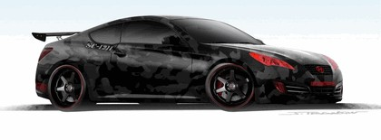 2010 Hyundai Genesis Coupe by Street Concepts 8
