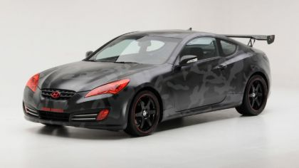 2010 Hyundai Genesis Coupe by Street Concepts 9