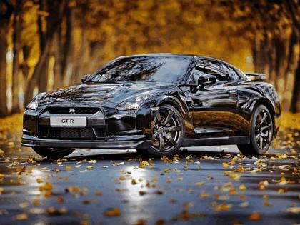 2009 Nissan GT-R black edition 1