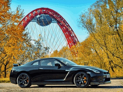 2009 Nissan GT-R black edition 10