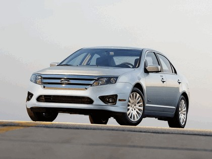 2009 Ford Fusion hybrid USA version 4