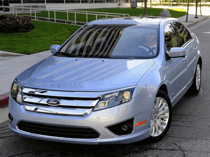 2009 Ford Fusion hybrid USA version 10