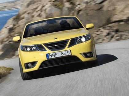2008 Saab 9-3 convertible yellow edition 1