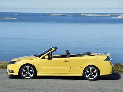 2008 Saab 9-3 convertible yellow edition 3