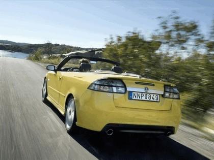 2008 Saab 9-3 convertible yellow edition 4