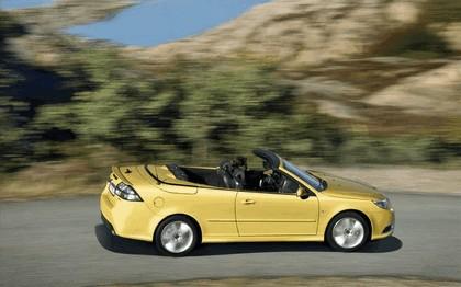 2008 Saab 9-3 convertible yellow edition 8
