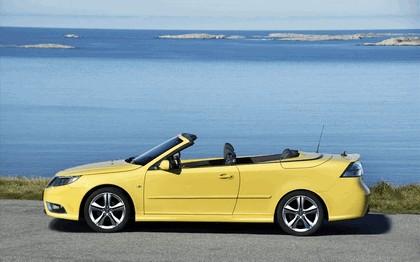2008 Saab 9-3 convertible yellow edition 9