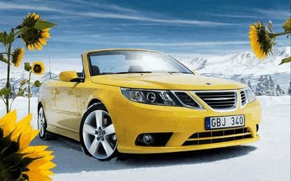 2008 Saab 9-3 convertible yellow edition 12