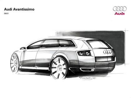 2001 Audi Avantissimo concept 30