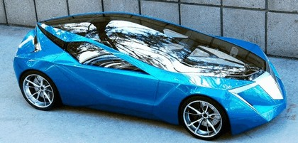 2008 Acura 2+1 coupé concept study 5