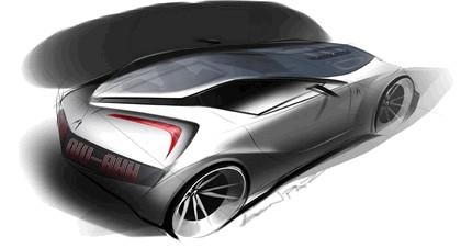 2008 Acura 2+1 coupé concept study 10