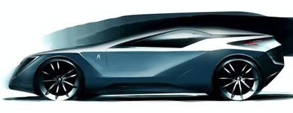 2008 Acura 2+1 coupé concept study 11