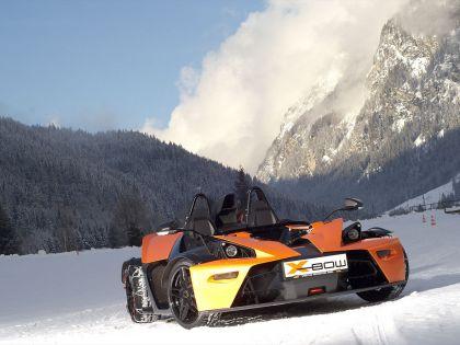 2009 KTM X-Bow Winter drift 1