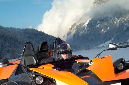2009 KTM X-Bow Winter drift 15