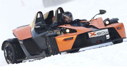 2009 KTM X-Bow Winter drift 1