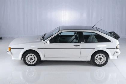 1985 Volkswagen Scirocco white cat 1