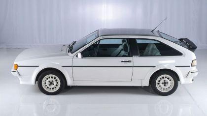 1985 Volkswagen Scirocco white cat 4