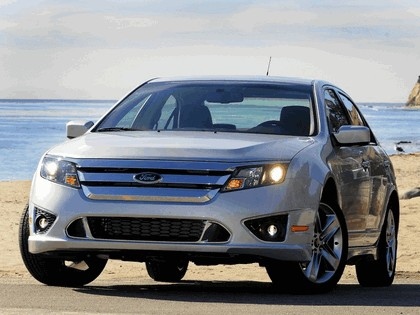2010 Ford Fusion sport 9