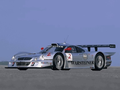 1999 Mercedes-Benz CLK GTR 7