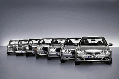 2008 Mercedes-Benz E-klasse history 1