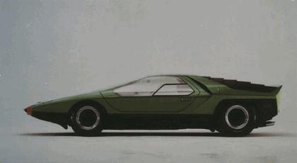 1968 Alfa Romeo Carabo concept 4