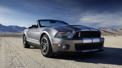 2010 Ford Mustang Shelby GT500 convertible 2
