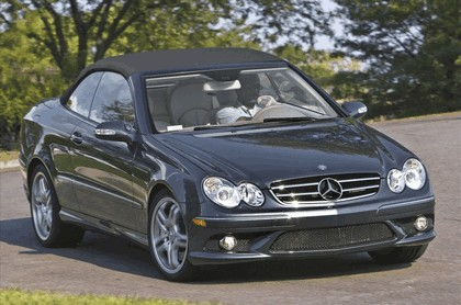 2009 Mercedes-Benz CLK550 cabriolet 1