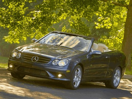 2009 Mercedes-Benz CLK550 cabriolet 3
