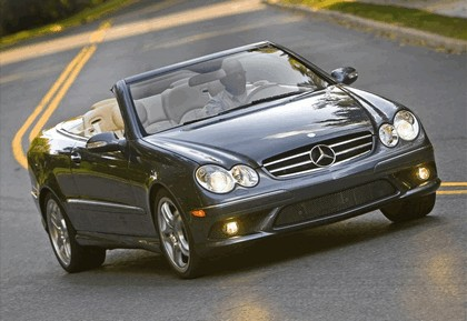 2009 Mercedes-Benz CLK550 cabriolet 5