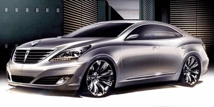 2009 Hyundai Equus sketches 1