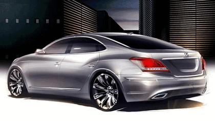 2009 Hyundai Equus sketches 2