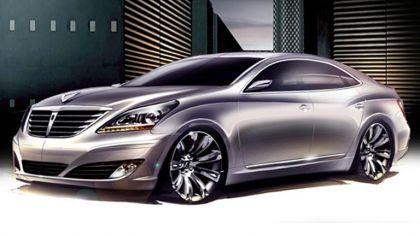 2009 Hyundai Equus sketches 9