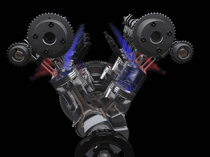 2009 Ford V6 3.5 Twin Turbo EcoBoost engine 8