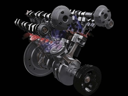 2009 Ford V6 3.5 Twin Turbo EcoBoost engine 9