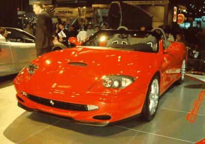 2001 Ferrari 550 Maranello Barchetta by Pininfarina 15