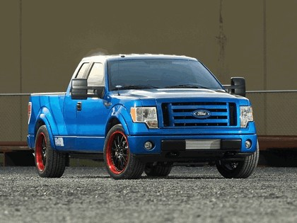 2009 Ford F-150 Hot Rod by H&R Springs 1