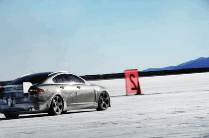 2009 Jaguar XFR - Bonneville speed record 1