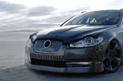 2009 Jaguar XFR - Bonneville speed record 2