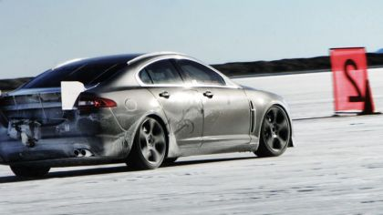 2009 Jaguar XFR - Bonneville speed record 9