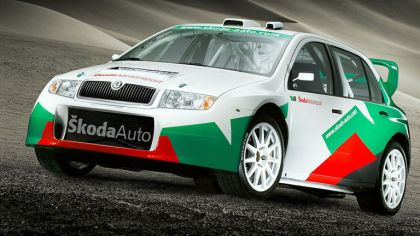 2005 Skoda Fabia WRC 4