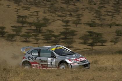 2001 Peugeot 206 WRC 8