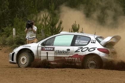 2001 Peugeot 206 WRC 13