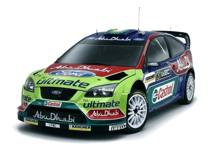 2008 Ford Focus RS WRC 1