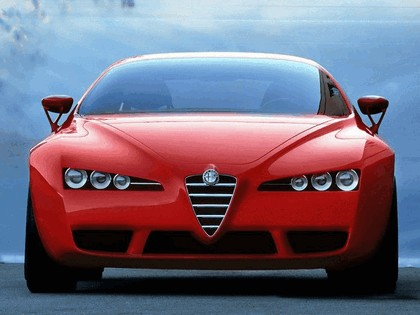 2001 Alfa Romeo Brera concept - design by Giugiaro 12