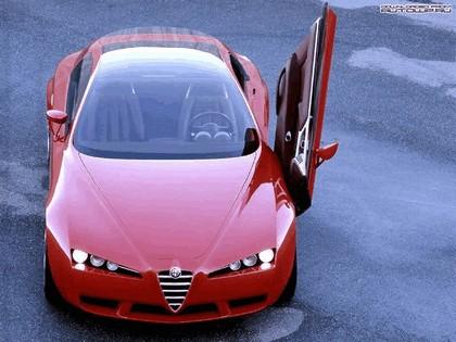 2001 Alfa Romeo Brera concept - design by Giugiaro 14
