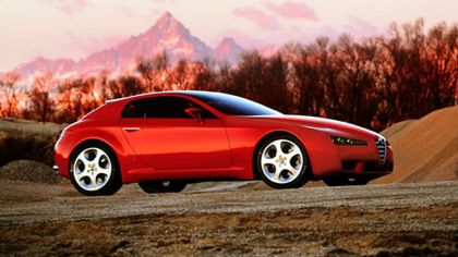 2001 Alfa Romeo Brera concept - design by Giugiaro 5