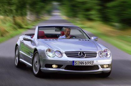 2001 Mercedes-Benz SL 55 AMG 10
