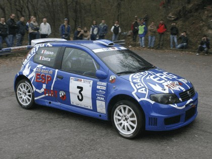 2005 Fiat Punto rally 3