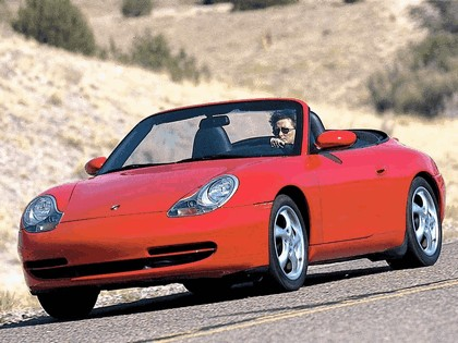 2001 Porsche 911 Carrera cabriolet 9
