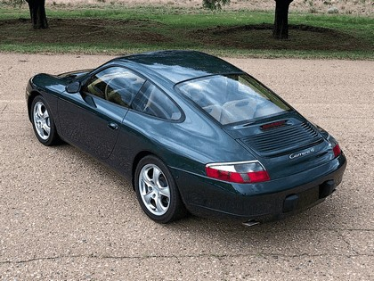 2001 Porsche 911 Carrera 4 8